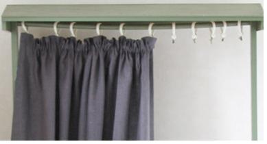 Einfache Vorhänge